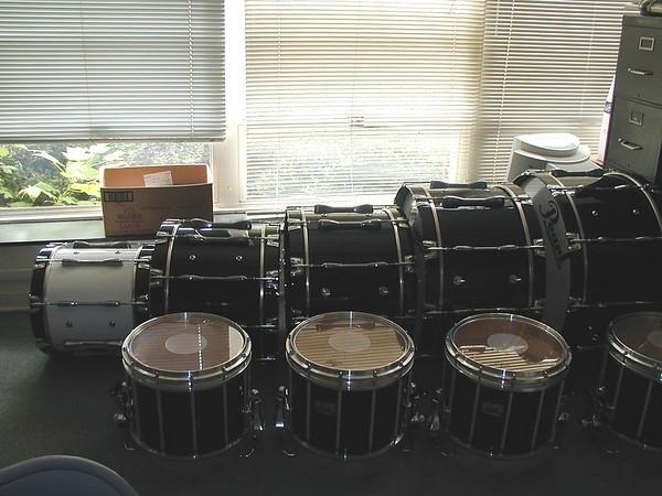 2002 July:  Drum Refitting
