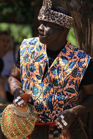 African musican