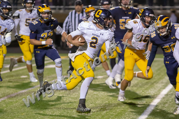 2018 10 05 Clarkston Varsity Fottball vs Oxford - Homecoming