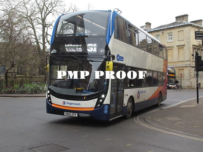 OXFORDSHIRE BUSES JAN 2020