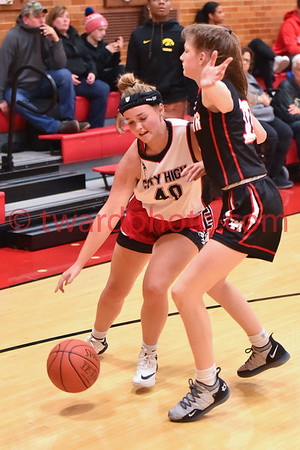 2019 CHS Freshman Girls Basketball - Linn-Mar