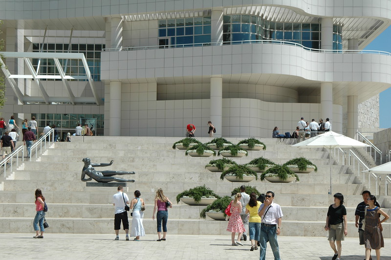 Getty Center Entrance