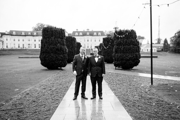 Ruud & Tom Getting Married at the K-Club in Straffan, Co. Kildare
