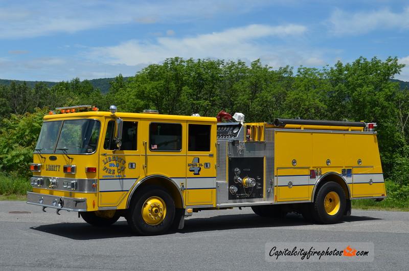 Schuylkill Haven (Liberty Fire Co. 4) Squad 4: 1992 Pierce 1500/1000 (X-Cressona, PA)