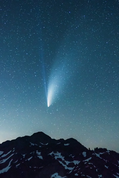 Comet NEOWISE Over Mt. Herman