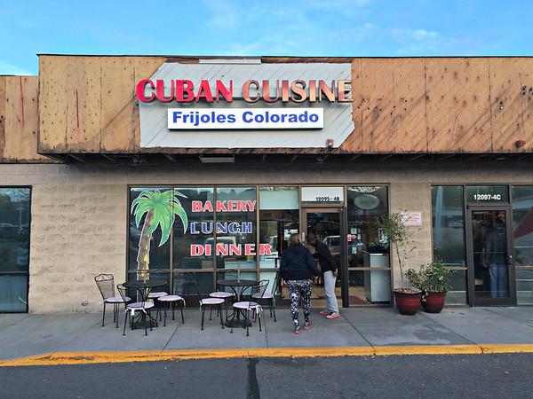 Frijoles Colorado Cuban., Sun., Oct. 23, 2016