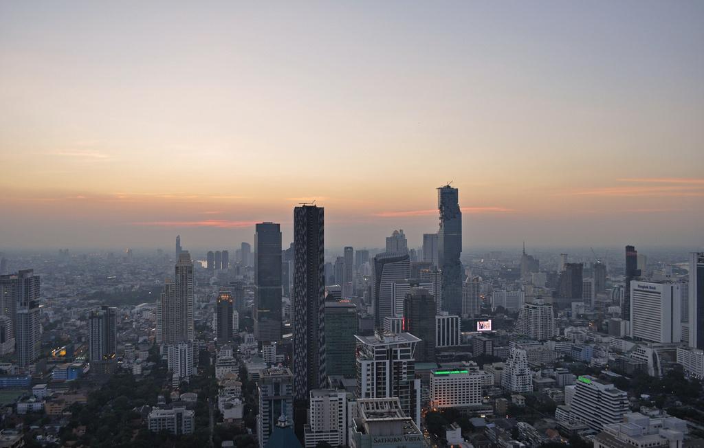 Thailand - Bangkok - view from Moon Bar