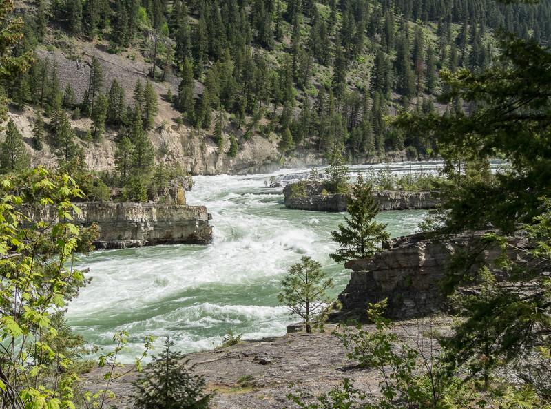 Rapids on the Kootenai River in Montana