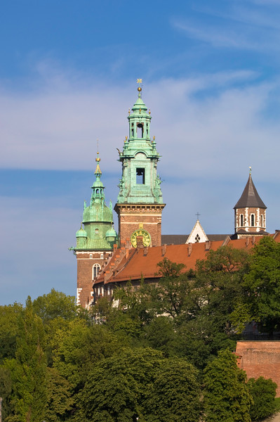 Poland, Cracow, Wawel Castle