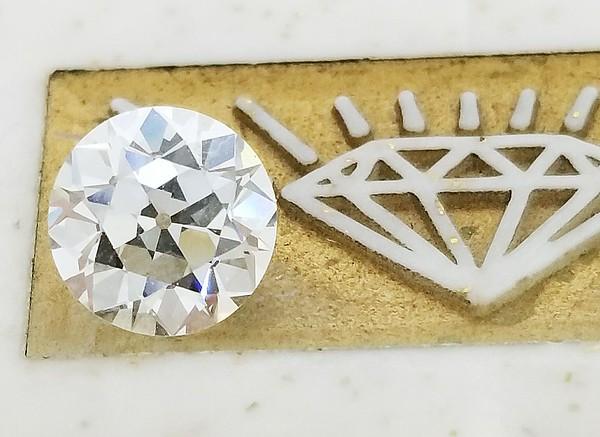 2.15ct Old European Cut Diamond - GIA K, VS1