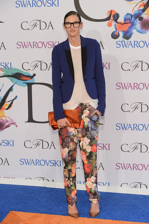 . Jenna Lyons attends the 2014 CFDA fashion awards at Alice Tully Hall, Lincoln Center on June 2, 2014 in New York City.  (Photo by Dimitrios Kambouris/Getty Images)