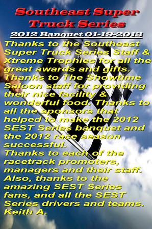 Southeast Super Truck Series_2012 Banquet