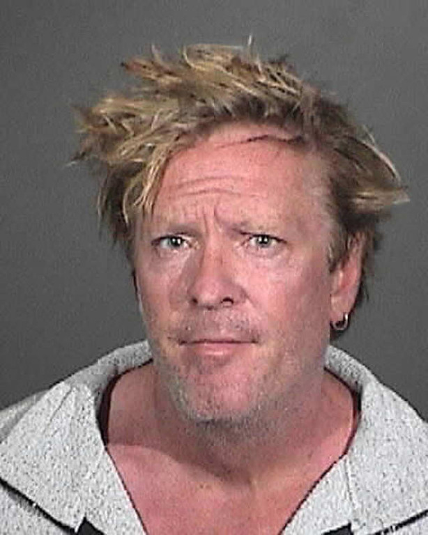 . This image provided by the Los Angeles Coundy Sherrif\'s Department shows a booking photo of Michael Madsen. A Los Angeles County sheriff\'s statement says Madsen was arrested Friday afternoon March 7, 2012 at his home in Malibu, after deputies were called about a family disturbance. (AP Photo/Los Angeles County Sheriff\'s Department)