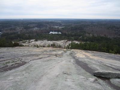 Stone Mountain Quarry with Jesse 12.31.12