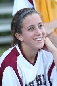 Varsity Girls Soccer vs Newtown - 09/19/2011