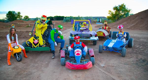 Mario Kart Behind The Scenes