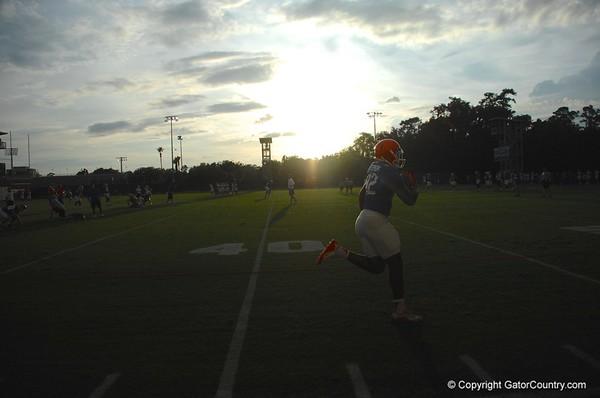 Florida Gators Open Practice Last Day of August