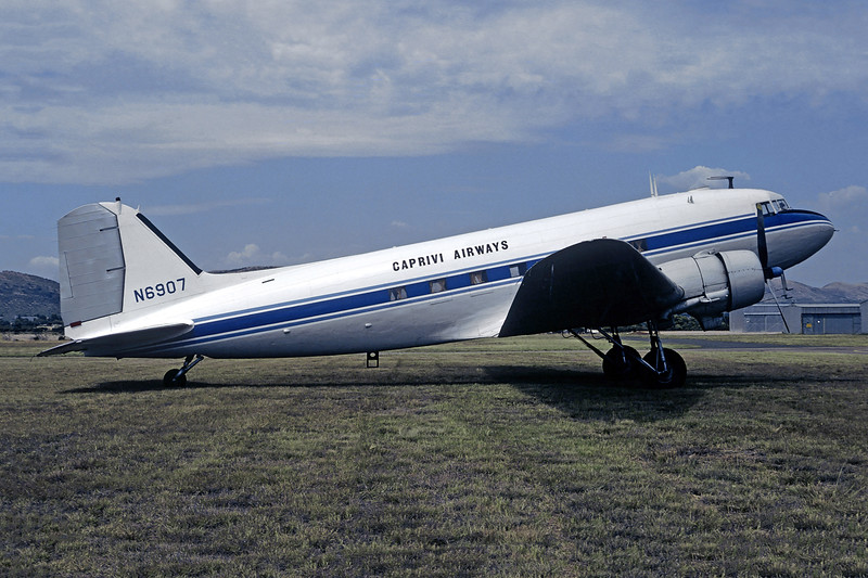 Caprivi Airways Douglas C-47A-DL (DC-3) N6907 (msn 9410) PRY (Christian Volpati Collection). Image: 946184.