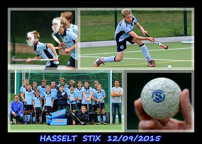 Hasselt STIX U16  12/09/2015