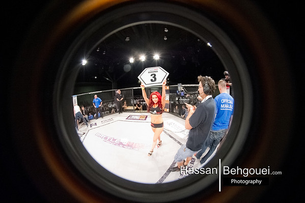 BFL 23 Vancouver Convention Centre Downtown BC Canada BattleField Fight League Circular Fish Eye (5_25_13)