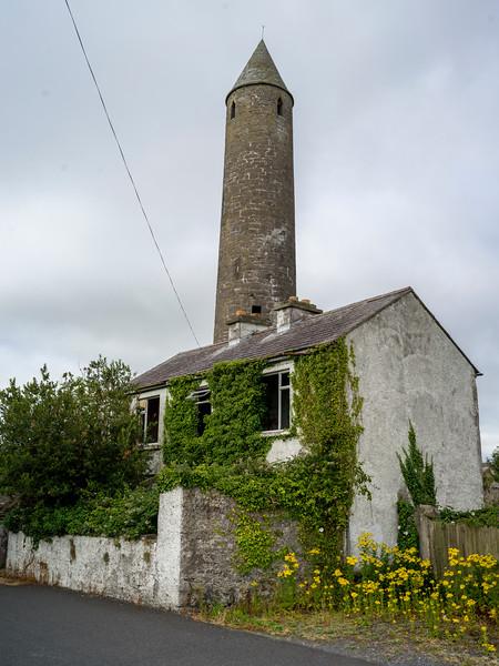 Killala Round Tower, Killala Town, Killala, County Mayo, Republic of Ireland