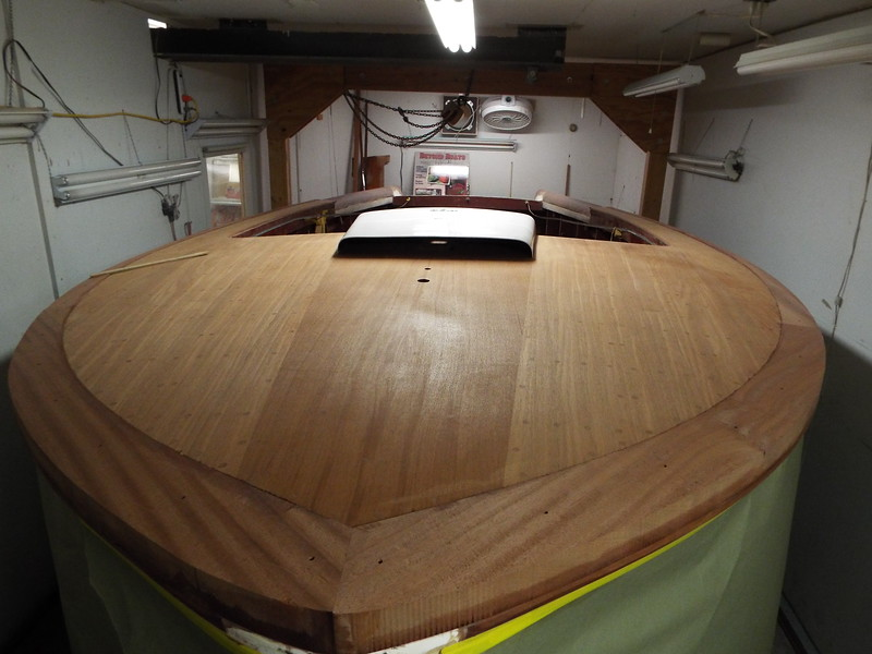 Another view of the cover boards with some shape ready for plugs.