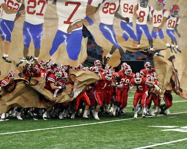 LOUISIANA HIGH SCHOOL FOOTBALL 2008: Evangel of Shreveport vs John Curtis of New Orleans for the Class 2A State Championship @ the Louisiana Superdome.  John Curtis wins...AGAIN!