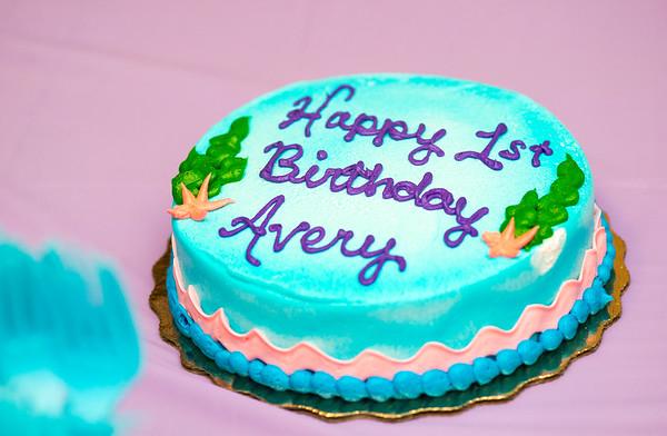 Avery Odle 1st Birthday