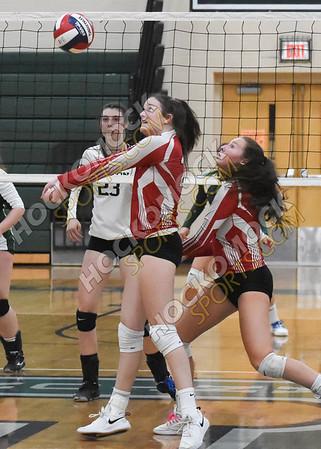 Canton - North Attleboro Volleyball 10-23-19