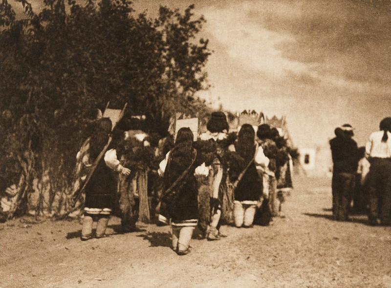 Fiesta of San Estevan, B - Acoma (The North American Indian, v. XVI. Norwood, MA, The Plimpton Press,  1926)