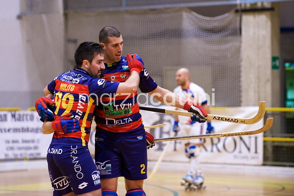 Correggio Hockey vs Hockey Forte