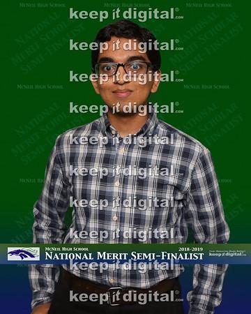 McNeil National Merit Semi-Finalists 2018-2019