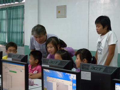 20100928 科普活動第三梯次-永安國小戶外GPS教學
