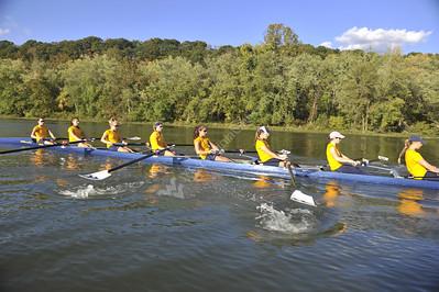28578 WVU Women's Rowing October 2012