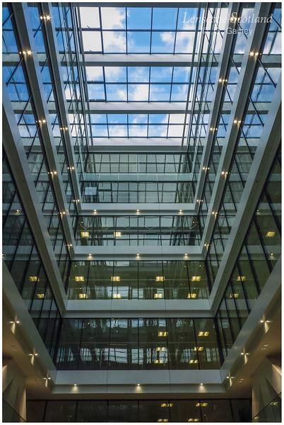 Atria offices, Morrison Street - internal view