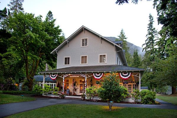 Lake Crescent Lodge June 2012