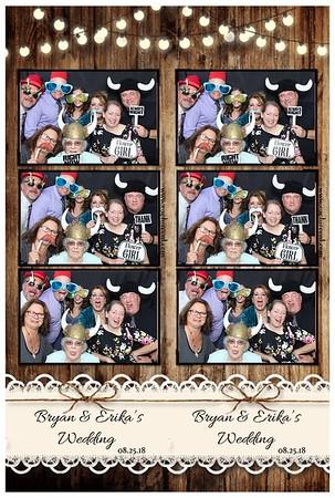 Bryan & Erika's Wedding 8.25.18