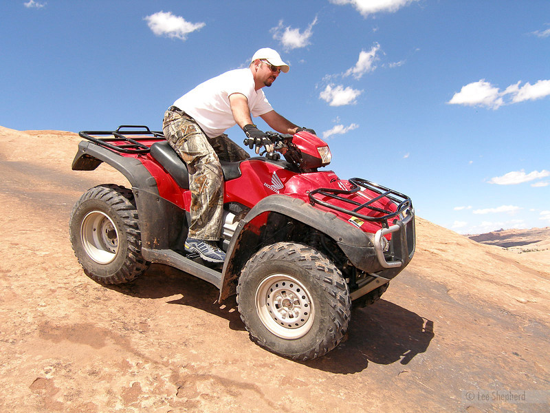 Odds that Pauly gets a 4-wheeler in the next 2 months:  75%.