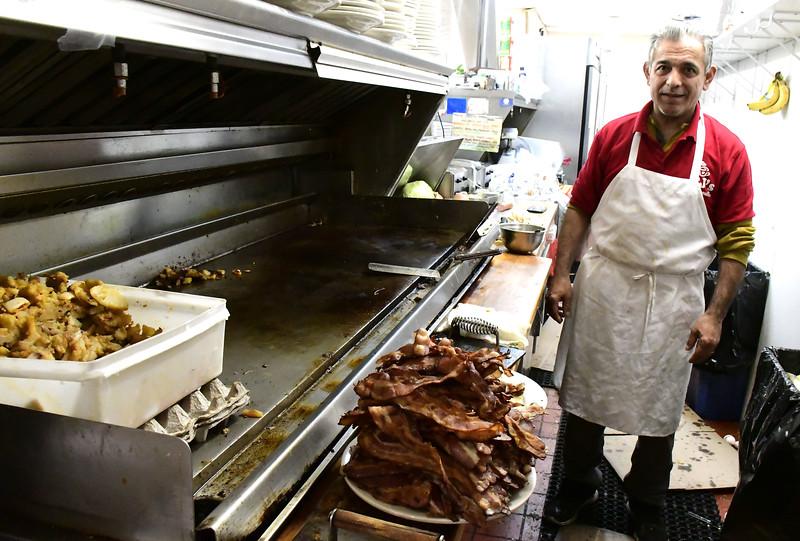 4/8/2020 Mike Orazzi | Staff Al Asik at CJ's Breakfast & Lunch in New Britain.