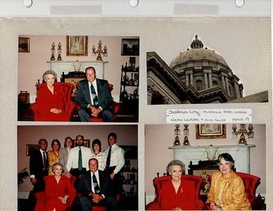 4-19-1993 Helen Lewellen & Ann Griot @ Jefferson City. MO