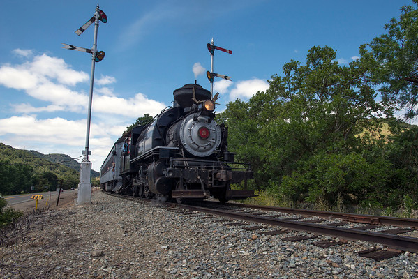 Niles Canyon Railway - May 4,  2014