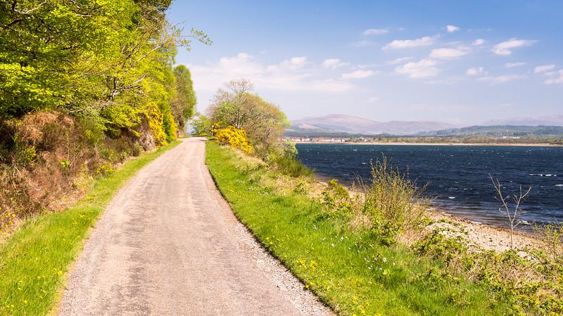 Sea-side road