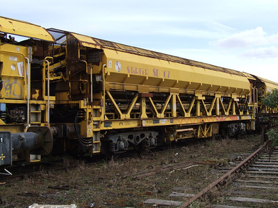 YOB - Stafer Single Line Spoil Handling System Wagon