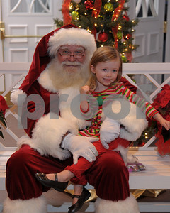 2012 Santa at First United Methodist