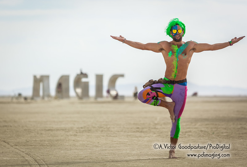 This is Gus. Super cool guy I met roaming the playa.