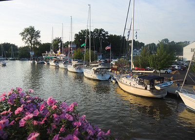 Labor Day weekend, 2015. Lots of beautiful sailboats and visitors enjoy our area.