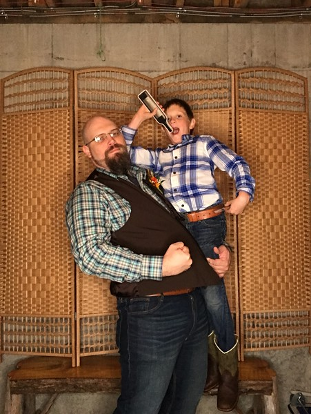 2019-10-05 Jean Acres Wedding Photo Booth Ellsworth WI