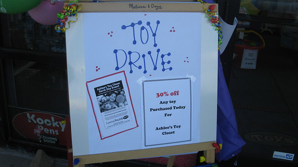 Learning Express Earth Day Toy Drive