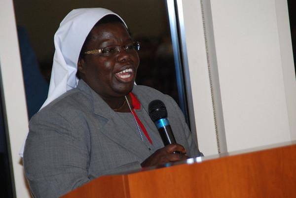 Sister Rosemary at Oklahoma University Engineering