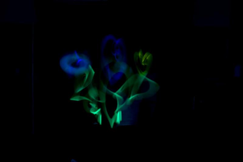 Light paint demo